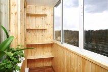 Балкон обробка всередині відео
