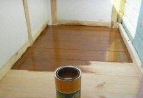 Дерев'яна підлога потрібно додатково обробити