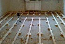Лаги для дерев'яної підлоги