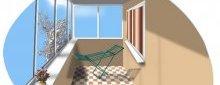 Лоджія з теплою підлогою