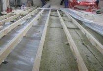 Настил дерев'яної підлоги своїми руками
