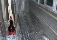 Решетування для фінішної обробки.  Правильне утеплення балкона