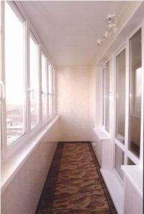 Оздоблення балконів і лоджій пластиковими панелями