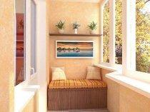 Теплий балкон - відмінне місце для відпочинку