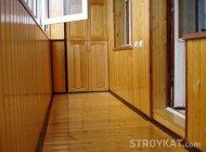 внутрішнє оздоблення балкона своїми руками вагонкою