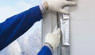 зимовий засклення балконів